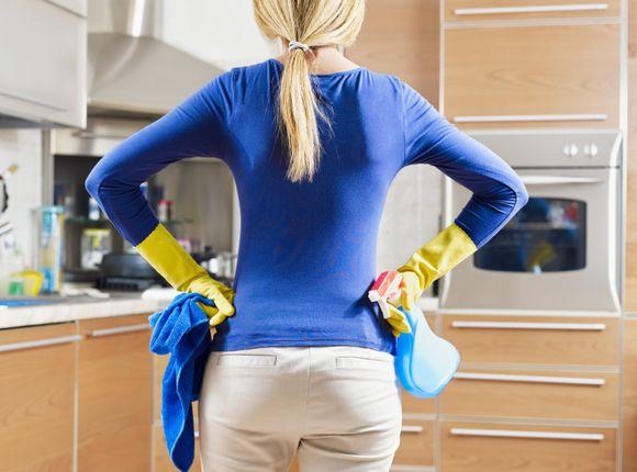 Jak posprzątać kuchnię na Święta
