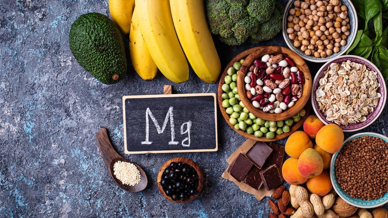 owoce i warzywa z dużą zawartością magnezu
