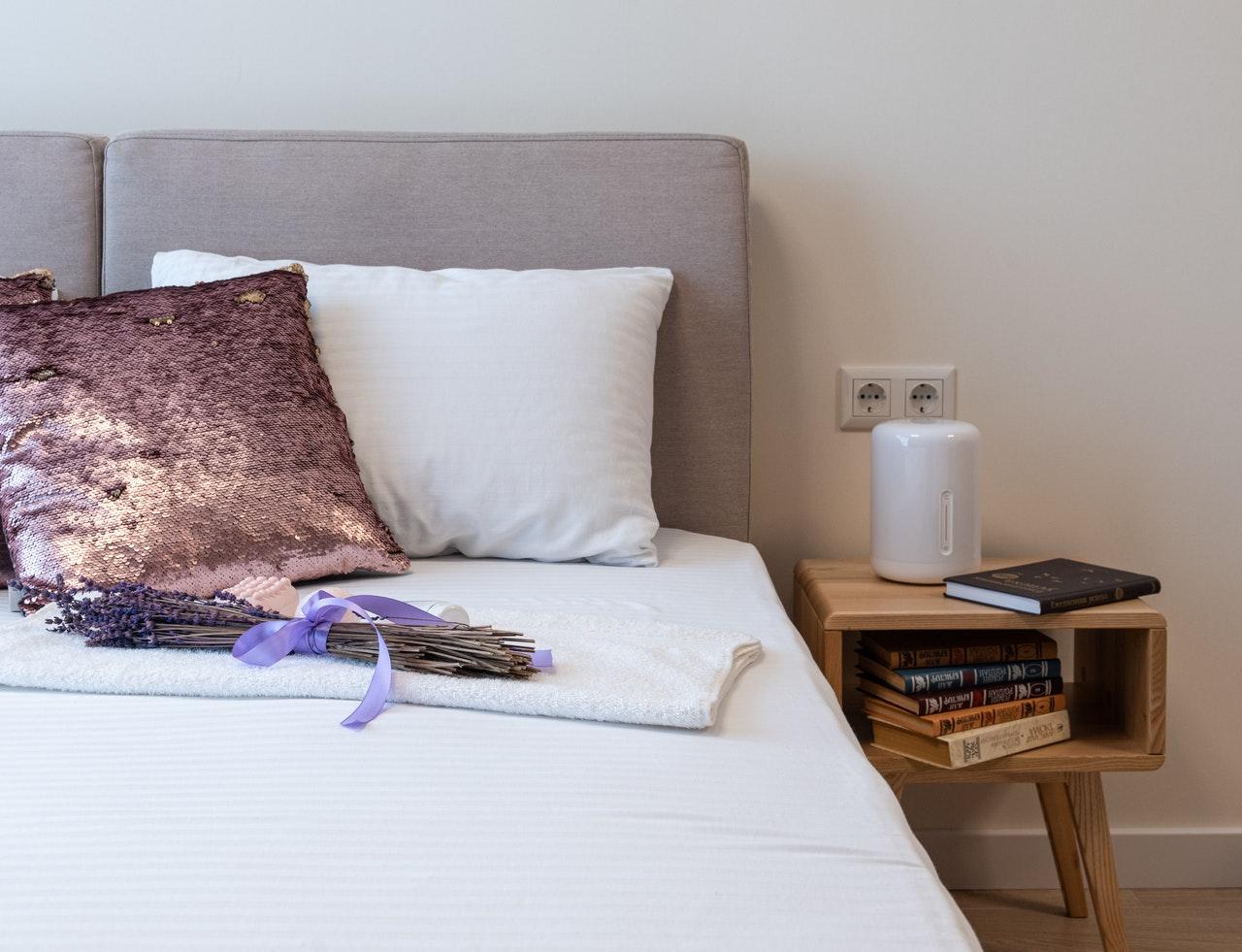 Ewaporacyjne nawilżacze powietrza są tak ciche, że mogą stać przy łóżku
