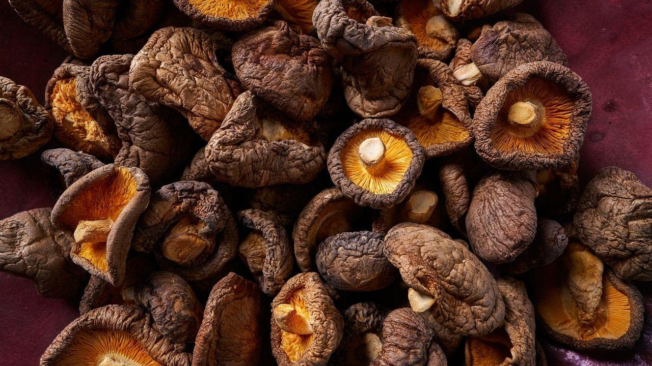 suszone grzyby wspomagające uzyskanie smaku umami